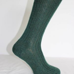 Mohair wellington boot socks