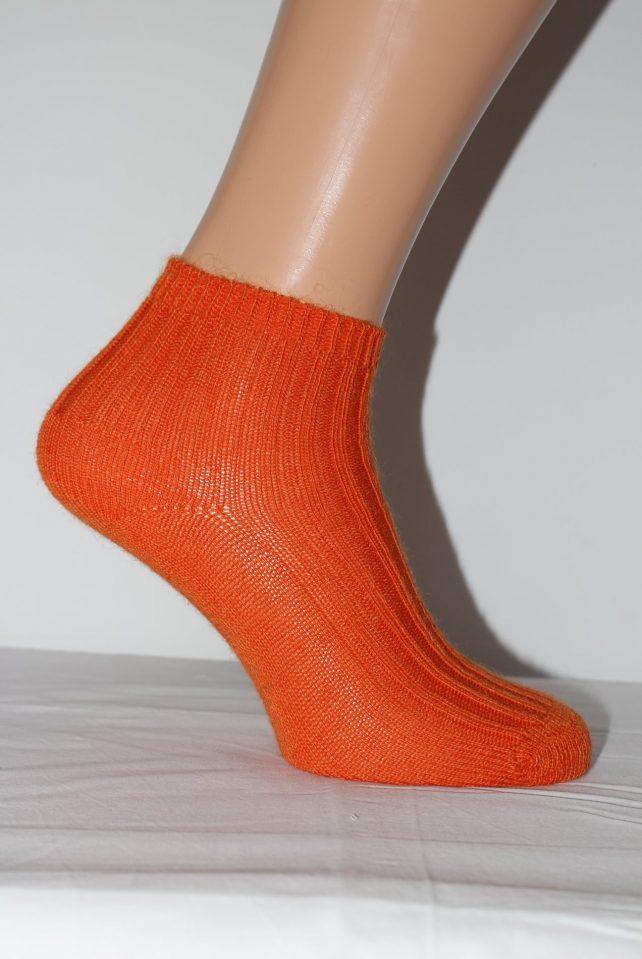 Anklet - Orange - socks